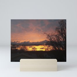 Smokey Sunset Mini Art Print