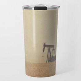 Digging for Black Gold Travel Mug