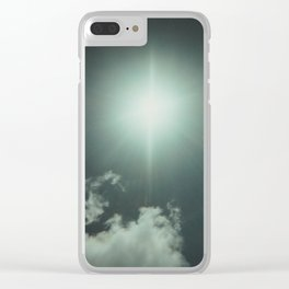 The Angel's Star Clear iPhone Case