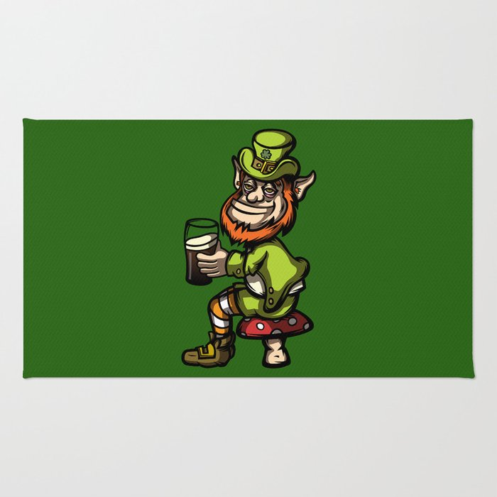 Drunken Leprechaun Rug