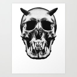 God is dead Art Print