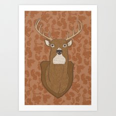 Regal Stag Art Print