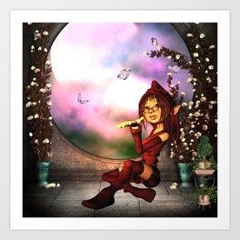 Sweet fairy Art Print