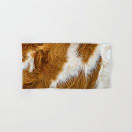 Cowhide. Cow Fur Background  Hand & Bath Towel