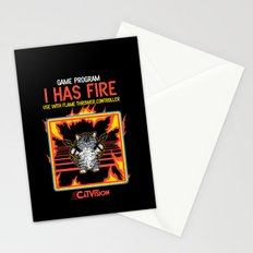 I Has Fire Stationery Cards