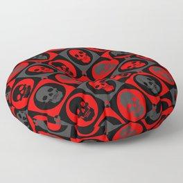 Skull Pattern Version 2 | Pop Art Floor Pillow
