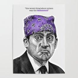 Prison Mike - TV Inspired Art Poster