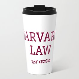 Harvard Law Travel Mug