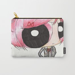 Puffed Natsuki- doki d Carry-All Pouch