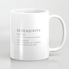 Serendipity Definition Coffee Mug
