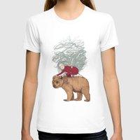 winter T-shirts featuring Winter by Sandra Dieckmann