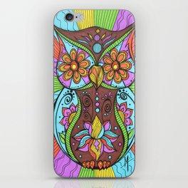 Lotus Owl iPhone Skin