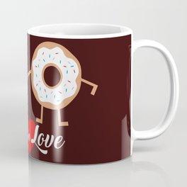 Fall in Love Apple Donuts Coffee Mug