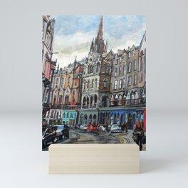 Victoria Street, Edinburgh Mini Art Print
