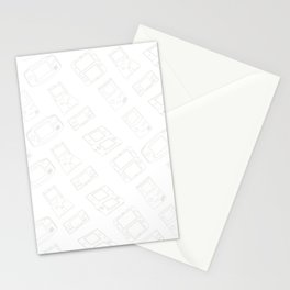 Gameboy History Skin Stationery Cards