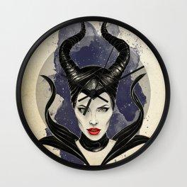 Maleficent Diva Wall Clock