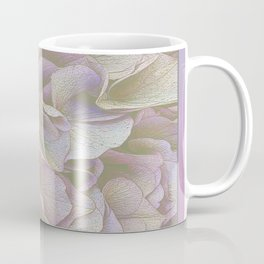 FADED HYDRANGEA CLOSE UP Coffee Mug