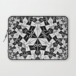 Escher Circle of Creatures Laptop Sleeve