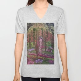 Secret cave to the land of gold Unisex V-Neck