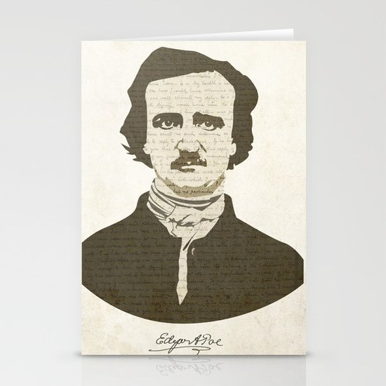 Edgar A. Poe Stationery Cards
