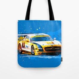GT3 Series Race Car Tote Bag