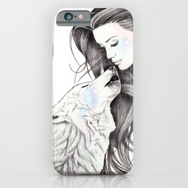 Witch Wolf iPhone Case