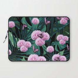 Tropical Peonies Dream #1 #floral #foliage #decor #art #society6 Laptop Sleeve