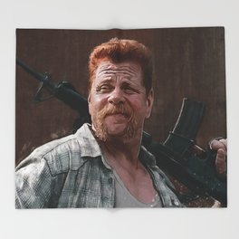 Sergeant Abraham Ford - The Walking Dead Throw Blanket
