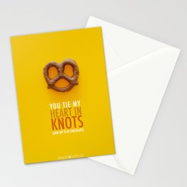 You Tie My Heart in Knots (and dip it in chocolate) Stationery Cards