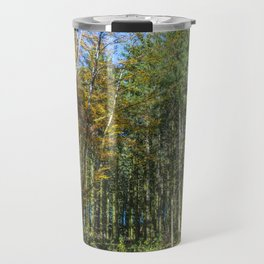 Colorful French forest Travel Mug