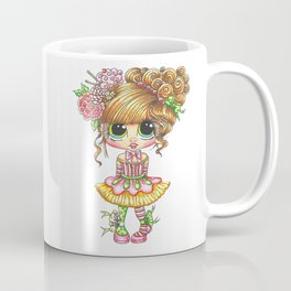 Sherri Baldy My Besties Sugar Plum Treats Big Eyed Art Coffee Mug