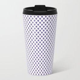 Paisley Purple Polka Dots Travel Mug