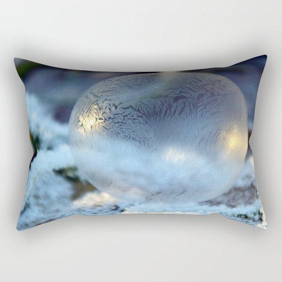 Christmas Bulb Aglow Rectangular Pillow