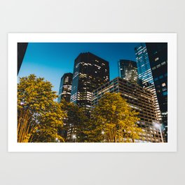 Chicago - Mecca of the Midwest IV Art Print