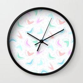 Retro Boomerang Diner Countertop Wall Clock