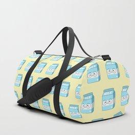 Kawaii Milk Duffle Bag