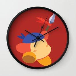 Bandana Dee (Red) Wall Clock