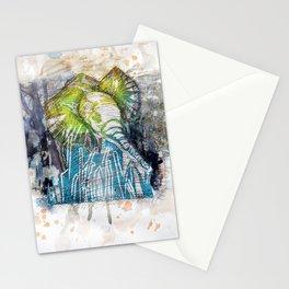 Orangy Elephant Stationery Cards