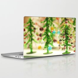 Snowmen Christmas trees Laptop & iPad Skin
