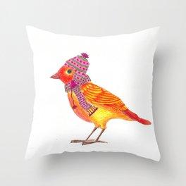 Little Birds: Nikki Throw Pillow