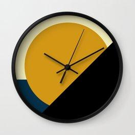 Summer - Geometric Wall Clock