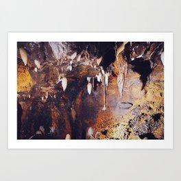 Ohio Caverns! Art Print