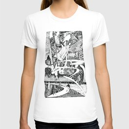 Abstract Angel Of A Dreams T-shirt
