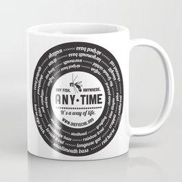 dF vinyl Coffee Mug