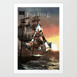 Edward Kenway: Master Assassin of the Caribbean Art Print