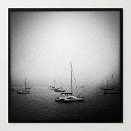 Fog At Marshall Canvas Print