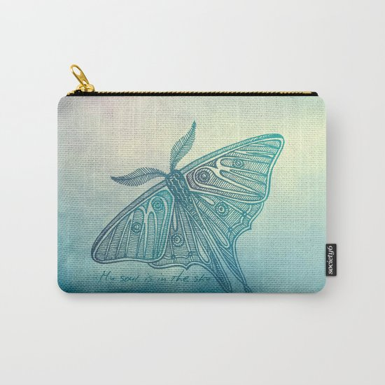My soul is in the sky Carry-All Pouch
