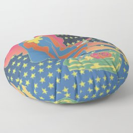 Astral Records Floor Pillow