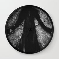 angels Wall Clocks featuring Angels by Ni.Ca.