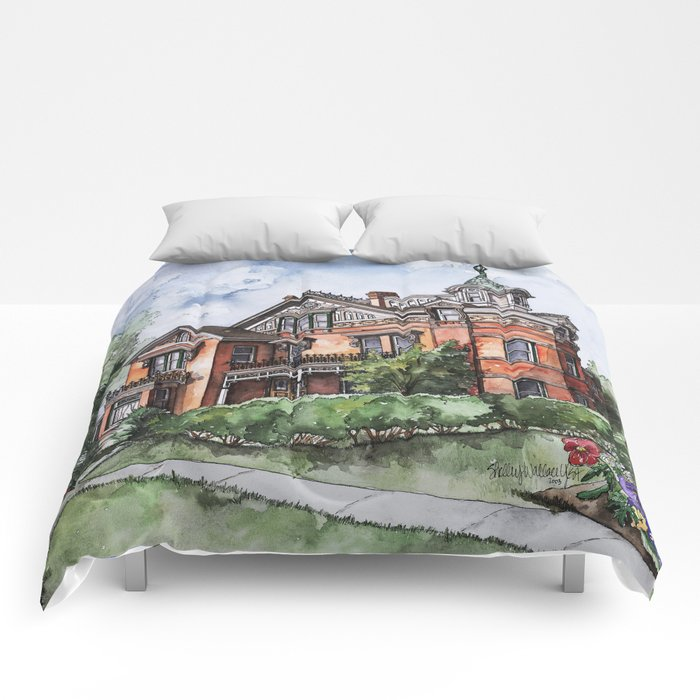 Armstrong Mansion Comforters